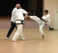 daniel kicking the board 9 october 2014