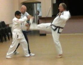 david kicking the board 9 october 2014