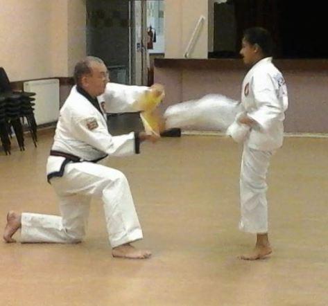 malina kicking the board 9 october 2014